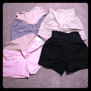 "🤰🏼Old Navy 5"" Twill Shorts (4) lot"